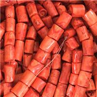 red Coral beads, A-grade, approx 12-25mm [CROT06]