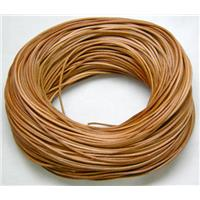 Brown Leather Cord For Jewelry Binding, 1.5mm thick, pearl color [WIRELT003-P]